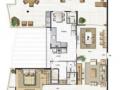 Cobertura Linear  - Condomínio Saint Martin