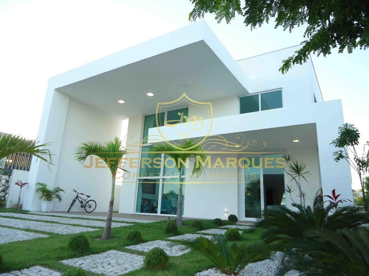 Moderna casa alphaville fortaleza para venda for Casa moderna de 7 00m x 15 00m