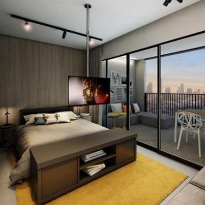 Apartamentos de 10 m² em São Paulo serão leiloados pela internet
